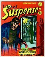 🚚 Tales of Suspense No.134  UK Edition B&W No Ads  HTF Horror Comic.