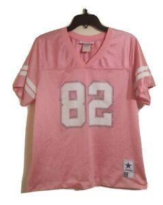 Jason Witten Dallas Cowboys Jersey #82 NFL Authentic Apparel Pink Women's Large
