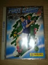 Panini Album Foot cards 98 complet très rare saison 1997-1998