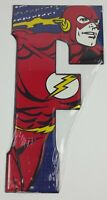 DC Comics Metal Sign Wall Decor Letter F Open Road Brand Size 5 X 10 New