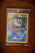 Blastoise Pokémon Card Rare Holo Base Set II 4/130 1999-2000
