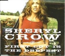 SHERYL CROW First Cut is Deepest w/ 3 LIVE TRX Europe CD single SEALED USA Seler