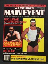 Wrestling Main Event Magazine September 1986 WWE WWF WCW NWA AWA Pro Illustrated