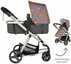 Cosatto Giggle Mix Pram & Pushchair – From Birth to 15kg