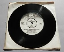 "David Vorhaus - An Extract From White Noise UK 1975 Virgin Promotional 7"" Single"