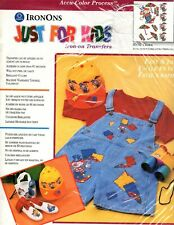 Coats & Clark - Just for Kids - Iron-On Transfer - Clowns - 35002