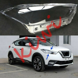 Right Side Headlight Cover Clear PC + Glue replace For Nissan Kicks 2018-2019 YQ