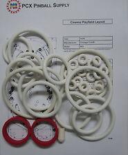 1976 Chicago Coin Cinema Pinball Machine Rubber Ring Kit
