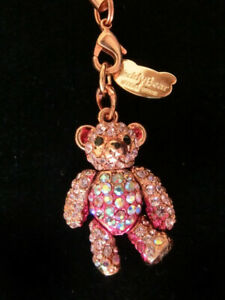 Abiste Pink Teddy Bear strap accesary in Flight Limited Edition from Japan