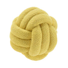 Animals nuts for large cotton rope knots has strengthen teeth of dog ball toy F6