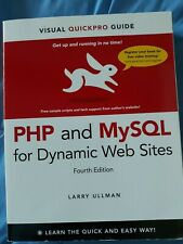 Php and MySql For Dynamic Web Sites:Visual Quickpro Guide By Larry Ullman-Great