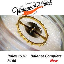 NEW Rolex BALANCE 1570 8106 COMPLETE Bilanciere Rolex 1575 1555 1556