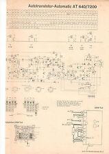 Schaltbild Autotransistor-Automatic AT 640/7200  B737