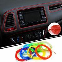 1x Blue 5M Universal Car-Styling Flexible Moulding Trim Strips Car Interior