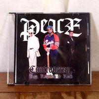 RARE PRIVATE XIAN RAP Peace / It Must Be Jesus CD Single Gospel Hip Hop PROMO M-