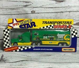 STEVE KINSER #26 NASCAR Matchbox 1995 Super Stars Transporters Series II QUAKER