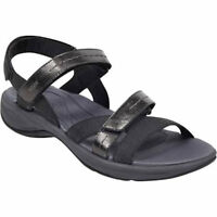 Women's Easy Spirit® Estina3  Black Slingback Sandals Med Widths Shoes Sz
