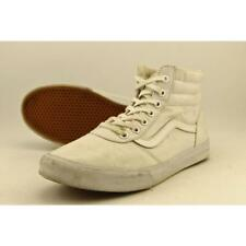 Vans Hi Top Women US 10 White Sneakers Pre Owned  1075