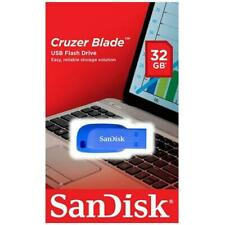 SanDisk Cruzer Blade 32GB  USB 2.0 Flash Memory Pen Drive Stick 5 LOT  (5 Pack)