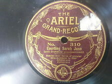 78rpm COURTING SARAH JANE / AND YET I DON`T KNOW ariel 310