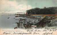 Newark Bay, Bayonne, New Jersey, Early Postcard, Used in 1907, Rotograph Co.