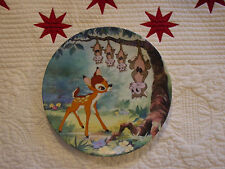 """Disney's Bambi """"What's Up, Possums?"""" Collector's Plate by Knowles"""