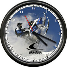 Ski-Doo Dealer Snow Mobile Snowmobile Racing Machine Sign Wall Clock