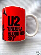 U2 Under a Blood Red Sky Promotional Mug Cup Live Nation Concert Mug