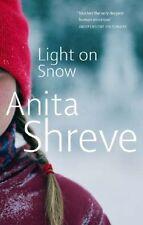 ANITA SHREVE ____ LIGHT ON SNOW ____ BRAND NEW __ FREEPOST UK