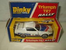 DINKY TRIUMPH TR7 RALLY #207 SCALE 1.43 1977 MIB