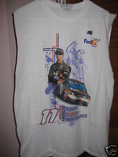 Chase Authentics Denny Hamlin #11 Power Passion Performance Tank Top Size L NEW