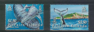 PITCAIRN ISLANDS -SG721-722-HUMPBACK WHALES-MNH