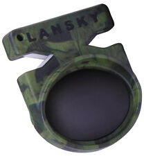 Lansky Quick Fix Tungsten Carbide Knife Pocket Sharpener Camo Green LCSTC-CG
