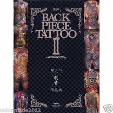 Back Piece Tattoo Vol.2 Photo Book Traditional irezumi Yakuza Catalog Free Ship