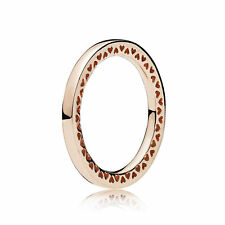 NEW! Authentic Pandora ROSE Classic Hearts of PANDORA Ring #186237-48 (4.5) $55