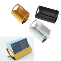 Metal Card Holders Note Holders for Office Display Desk Business Card Hold*ss
