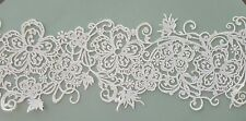 Edible Lace, Cake Lace, 3 Pc Quick and Easy 3 Pc Embroidery Stitch Filigree
