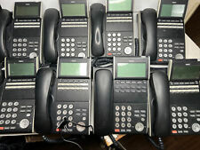 Lot Of 8 Nec Office Phone Dt300 Dtl 12d 1 12 Button Display Phone Black 680002