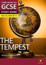 The Tempest: York Notes pour GCSE (9-1): 9-1 par pages, Ms Emma Livre de poche