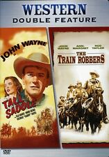 [DVD NTSC/1 NEW] TRAIN ROBBERS/TALL IN THE SADDLE