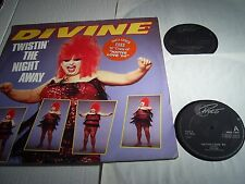 "DIVINE Twistin' The Night Away + Native Love PROTO '85 DOUBLE 12"" Bobby Orlando"