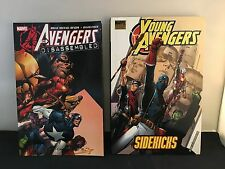 Avengers Disassembled / Young Avengers (First Printing HC)  2 Book Set