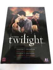 Dvd TWILIGHT La Saga  1,2,3,4 Fascination tentation hésitation révélation Occas-