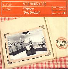 """TORNADOS – Telstar / Red Rocket (60's VINYL SINGLE 7"""" 45 REISSUE BELGIUM)"""