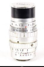 Lens France  Som Berthiot  Cinor 1.9/35mm D Mount