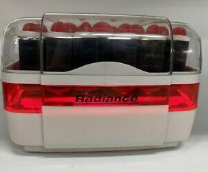 Vintage REVLON Radiance Lighted Instant 2 Minute Heat Up 20 Piece Velvet Roller