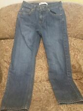 BOY'S LEVI'S 550 JEANS Size 14 Regular 27x27 Relaxed Fit