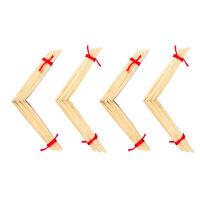 Exquisite 40 x Gouged Folded Woodwind Oboe Reeds Cane Bundle Regular Shape