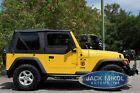 Black Soft Top For 97-06 Jeep Wrangler Smittybilt 9970235 Tinted Windows