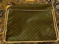 LOUIS VUITTON Portable 5 Cintres LV Monogram EUC Canvas Garment Bag Travel $6000